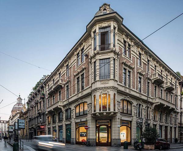Torino, Centro, Via Monte di Pietà